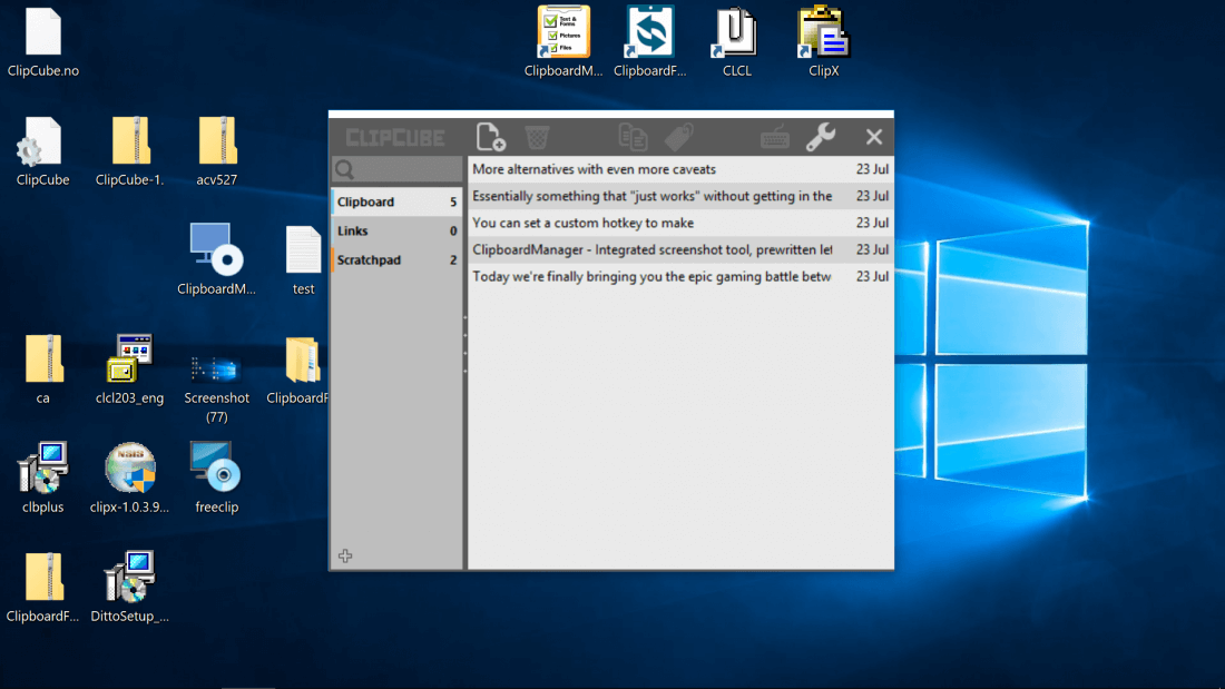 12 Windows Clipboard Managers Tested - TechSpot
