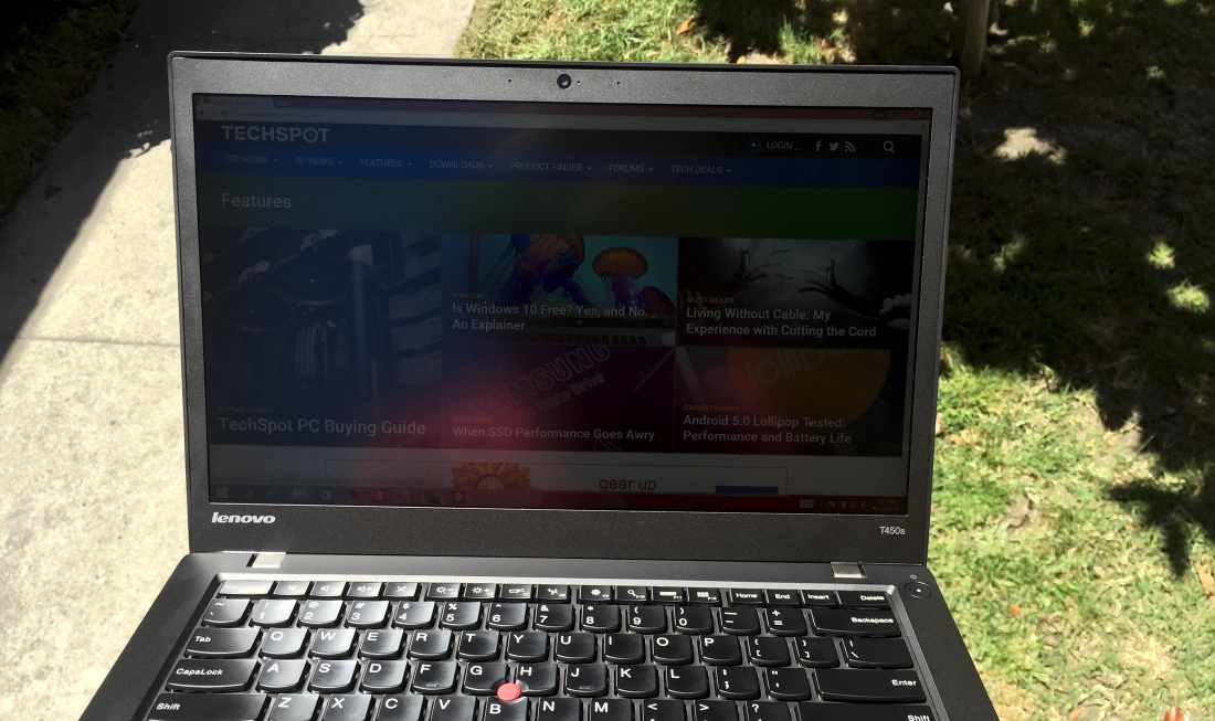 Lenovo ThinkPad T450s Laptop Review > Graphics, Storage, Battery and