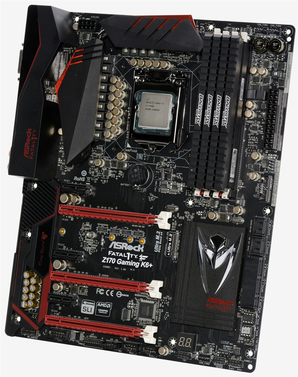 ASRock Fatal1ty Z170 Gaming K6+ Intel SATA Windows 8 Drivers Download (2019)