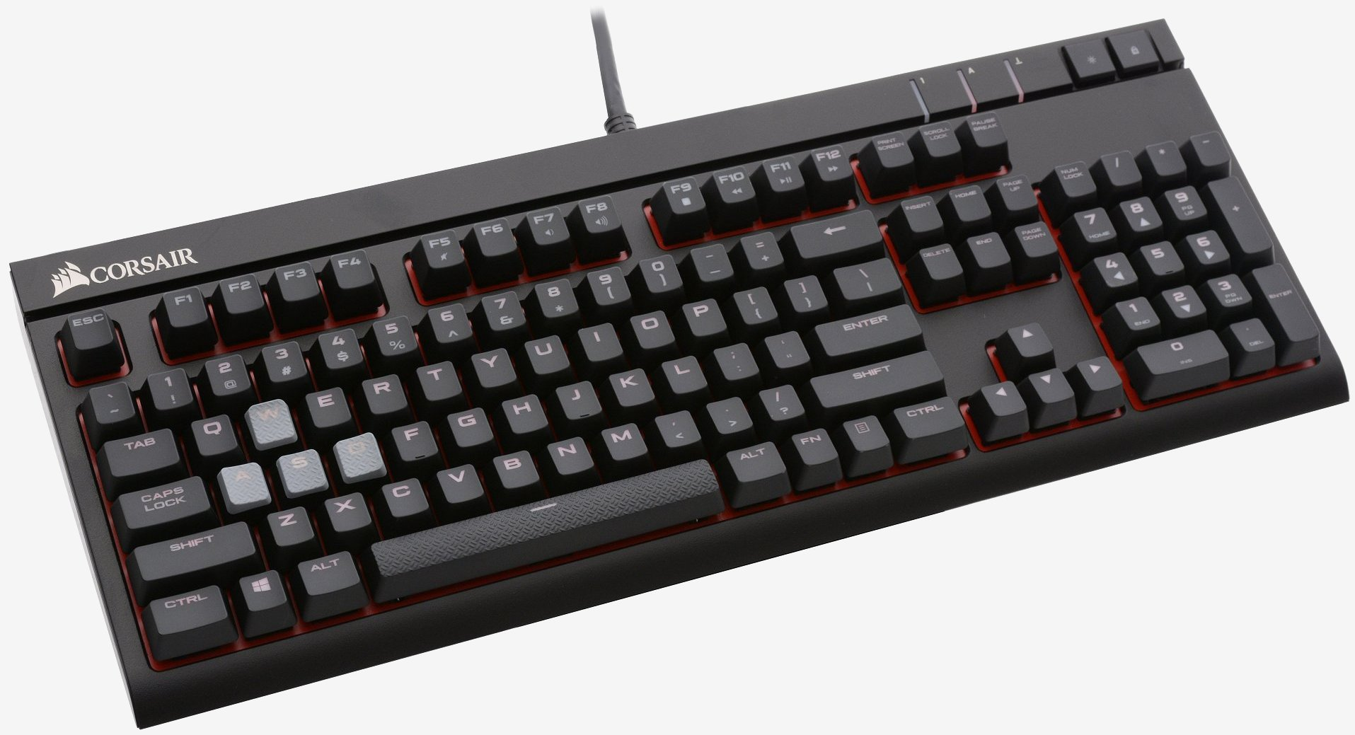 0344857cb9c The Strafe is certainly more of a budget-oriented mechanical gaming keyboard  when compared to what Corsair has been working on over the past year or so,  ...
