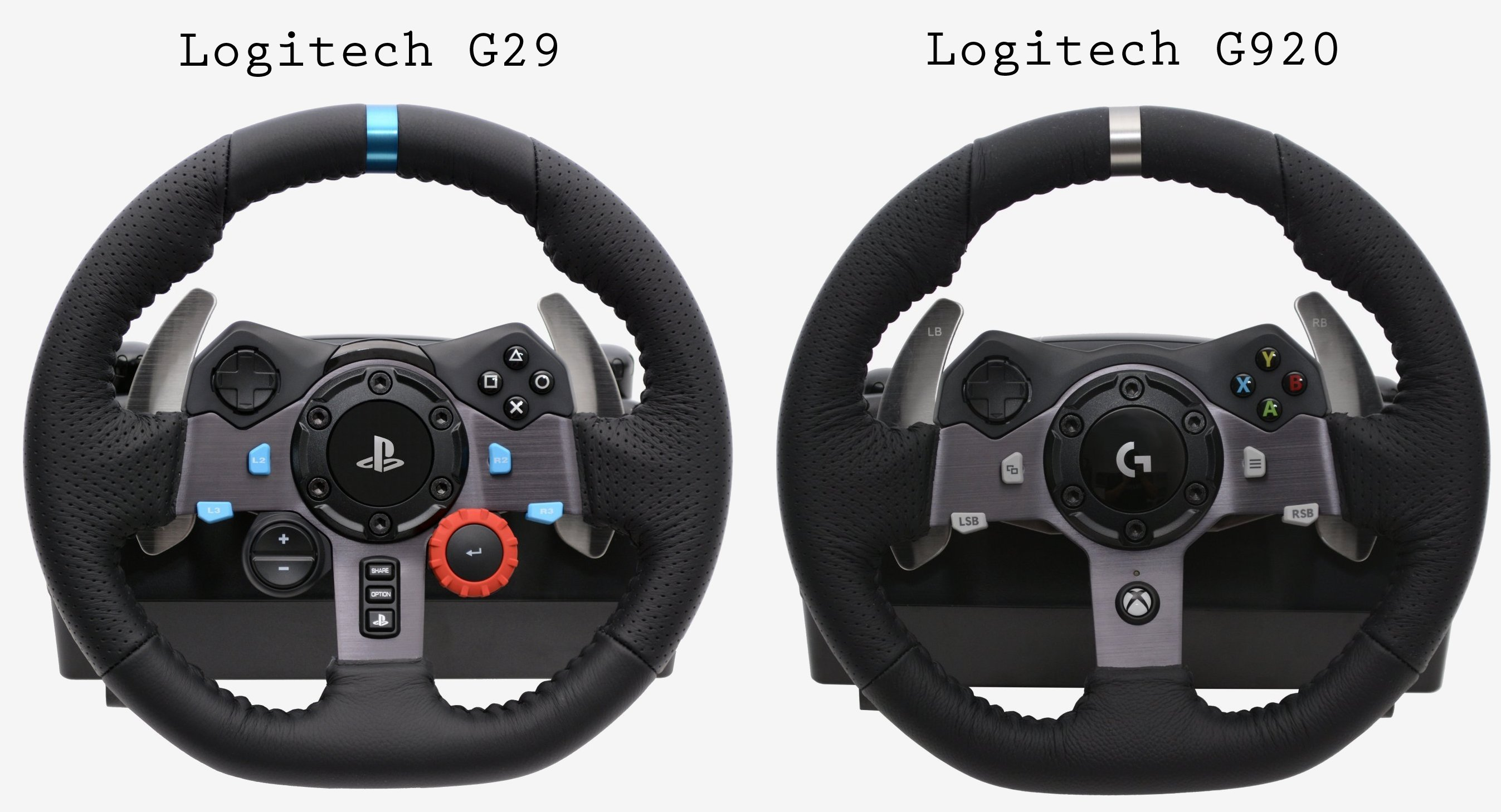 Logitech G920 & G29 Driving Force Review - TechSpot