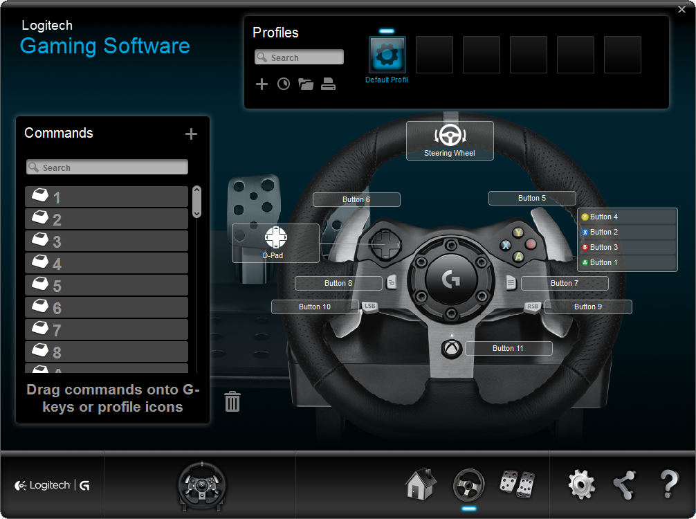 96b8b3b4508 The wheel menu allows for numerous adjustments and you can create virtually  limitless profiles. You can also scan for games on your PC and choose those  that ...