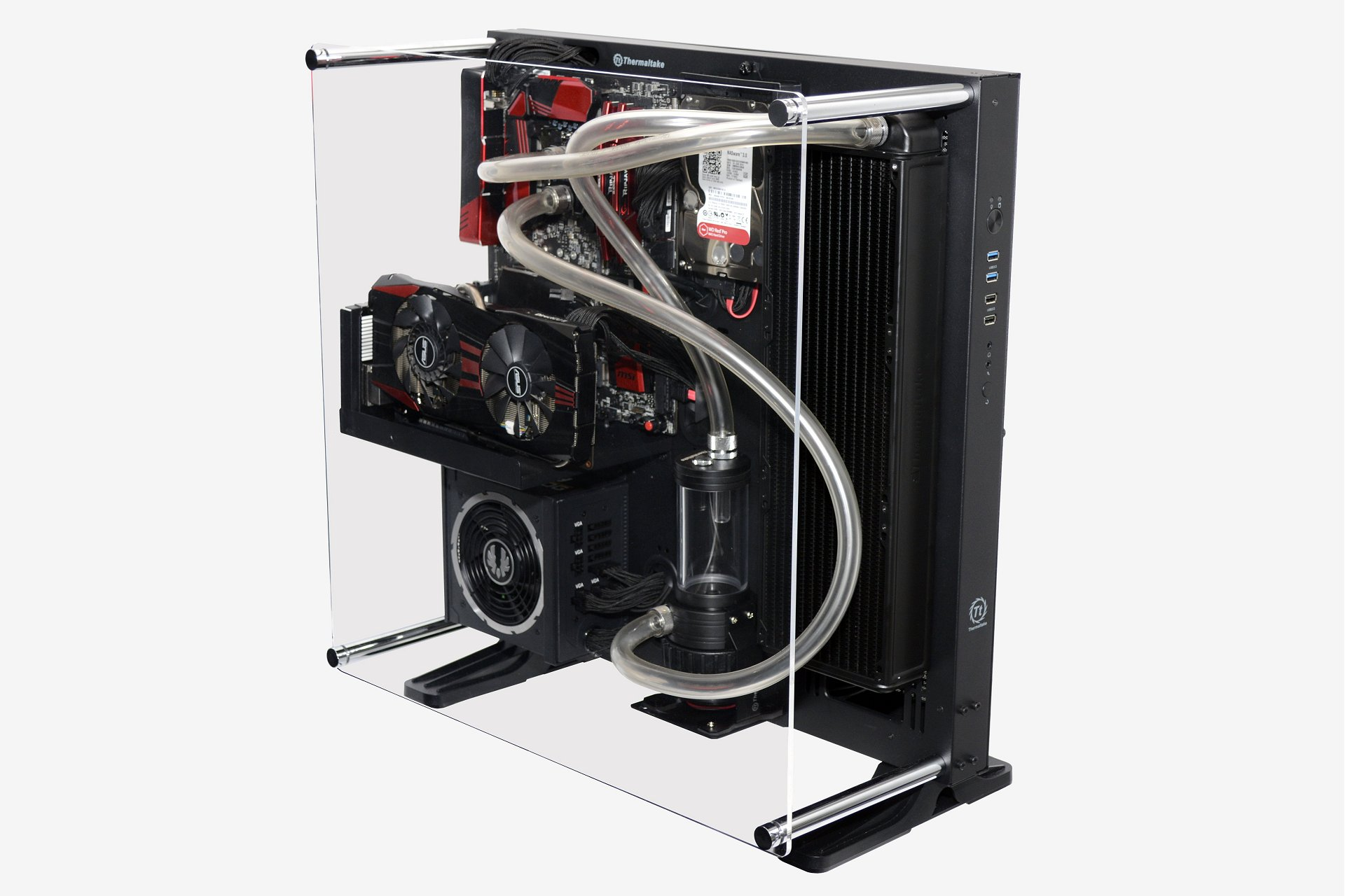 Thermaltake Core P5 Review: Wall-Mountable Open Frame Chassis Photo ...