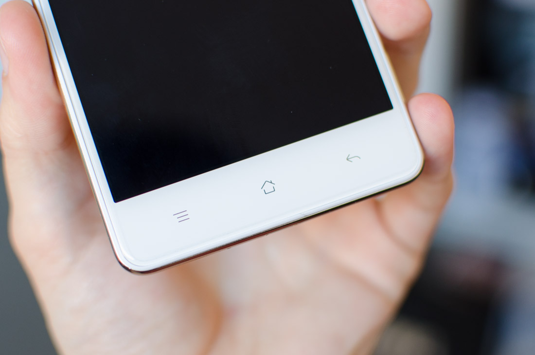 Oppo F1 Budget Smartphone Review Techspot F1s New Below The Display Has Included Capacitive Navigation Buttons Two Mistakes Have Been Made Here Back Button Occupies Rightmost Spot While It