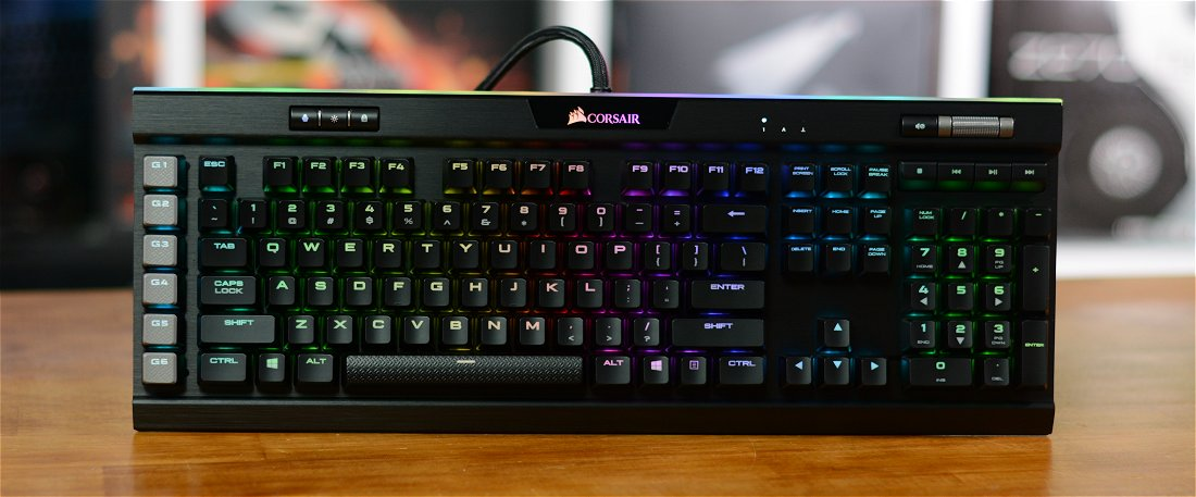 Corsair K95 RGB Platinum Mechanical Keyboard Review - TechSpot