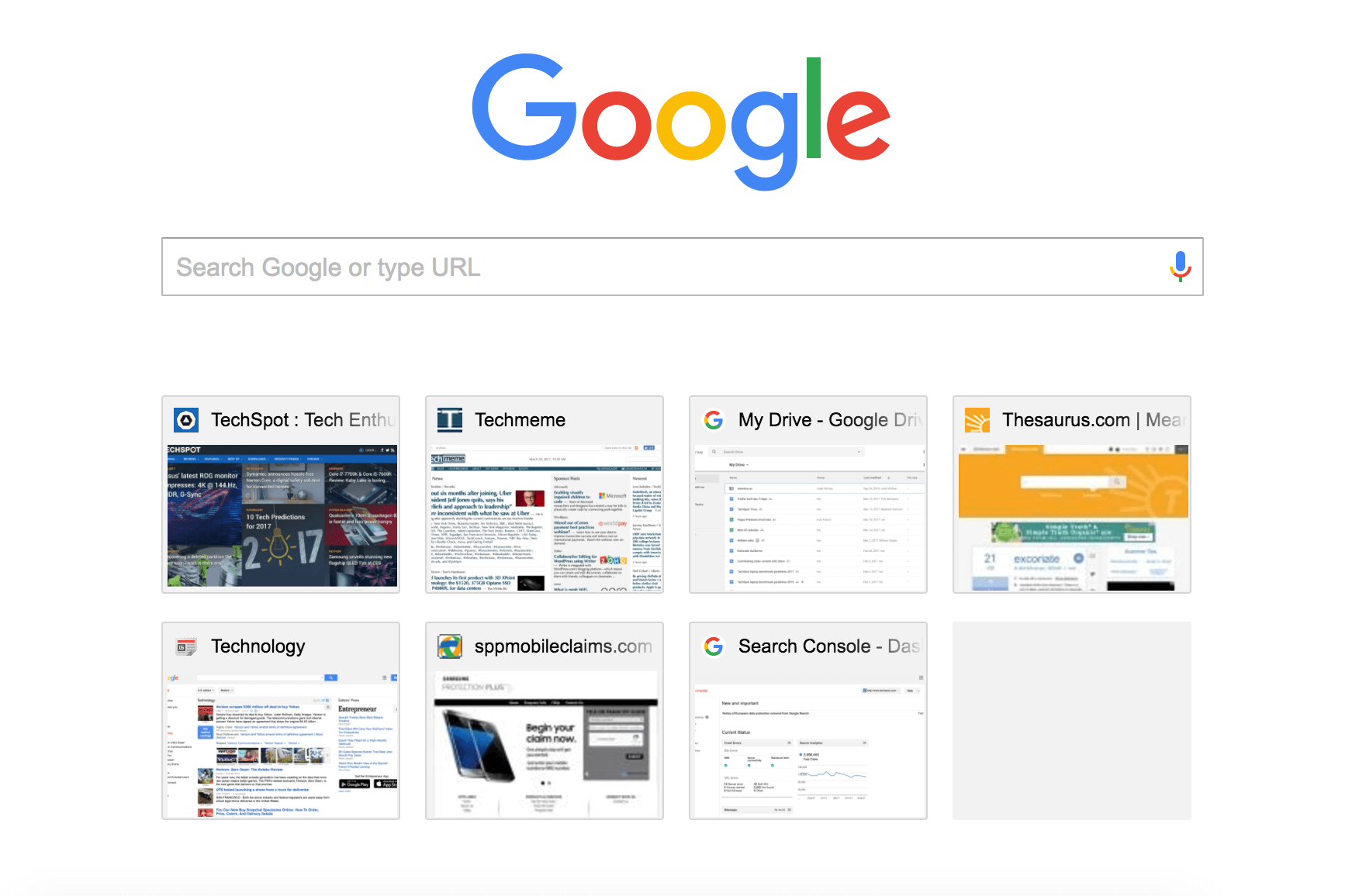 shortcut to open a new tab in chrome