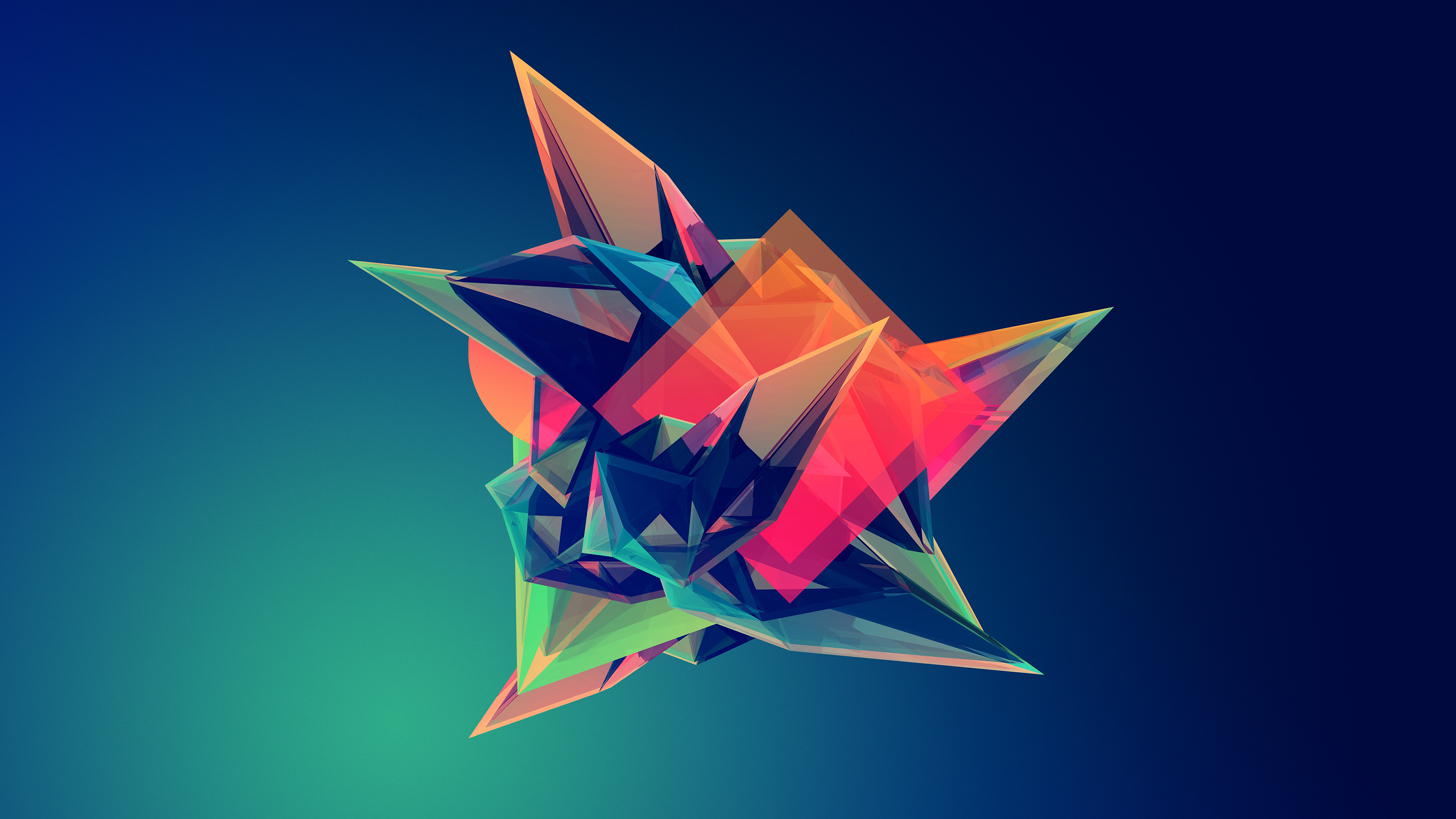 Facets Artwork Geometry Abstract