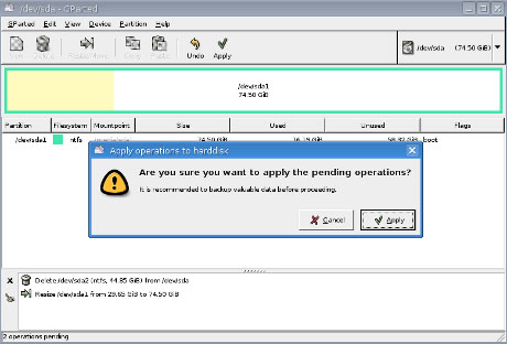 removing a partition windows 7