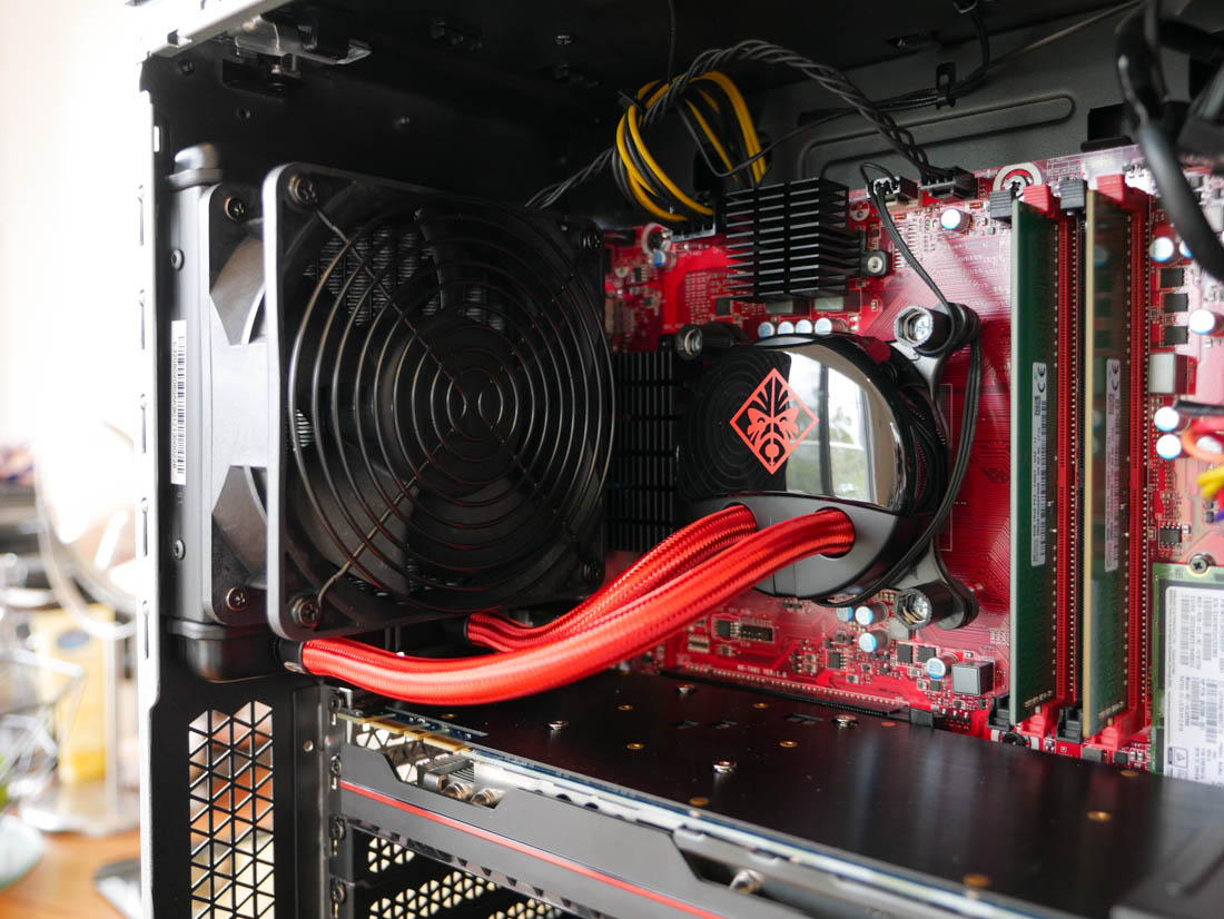 HP Omen Desktop PC Review Gt Performance Overclocking And