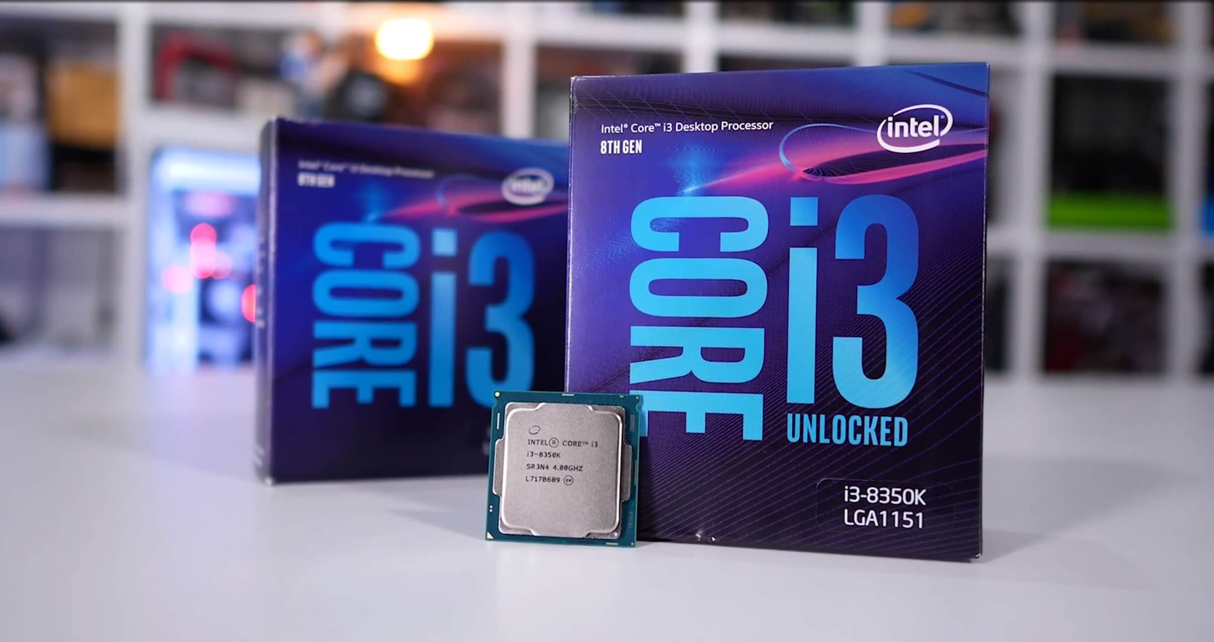 Intel Core i3-8100 and Core i3-8350K Review: RIP Ryzen 3? - TechSpot