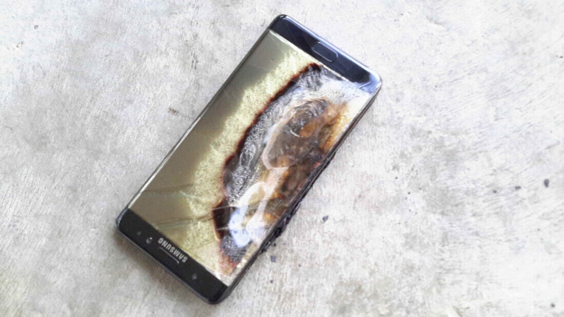 Some people are still using the Galaxy Note 7