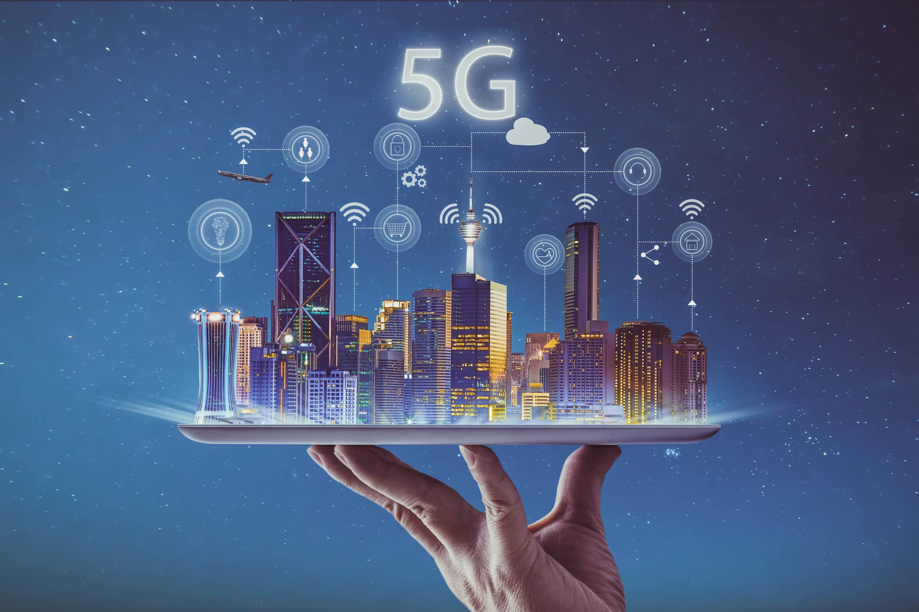 The State of 5G: When It's Coming, How Fast It Will Be & The Sci-Fi Future It Will Enable