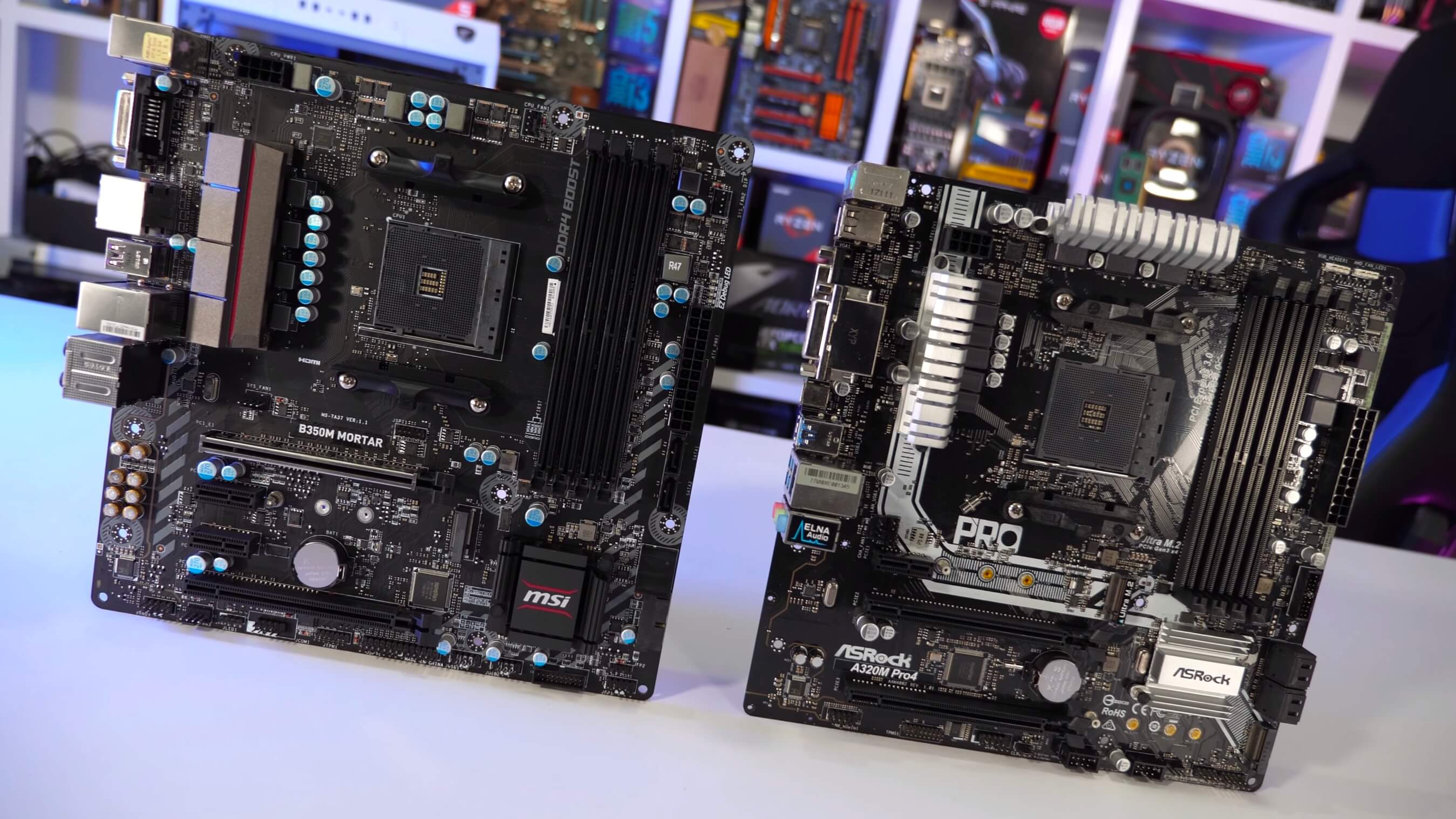 Don't Bother with A320 Motherboards, Go for AMD's B350 Instead for