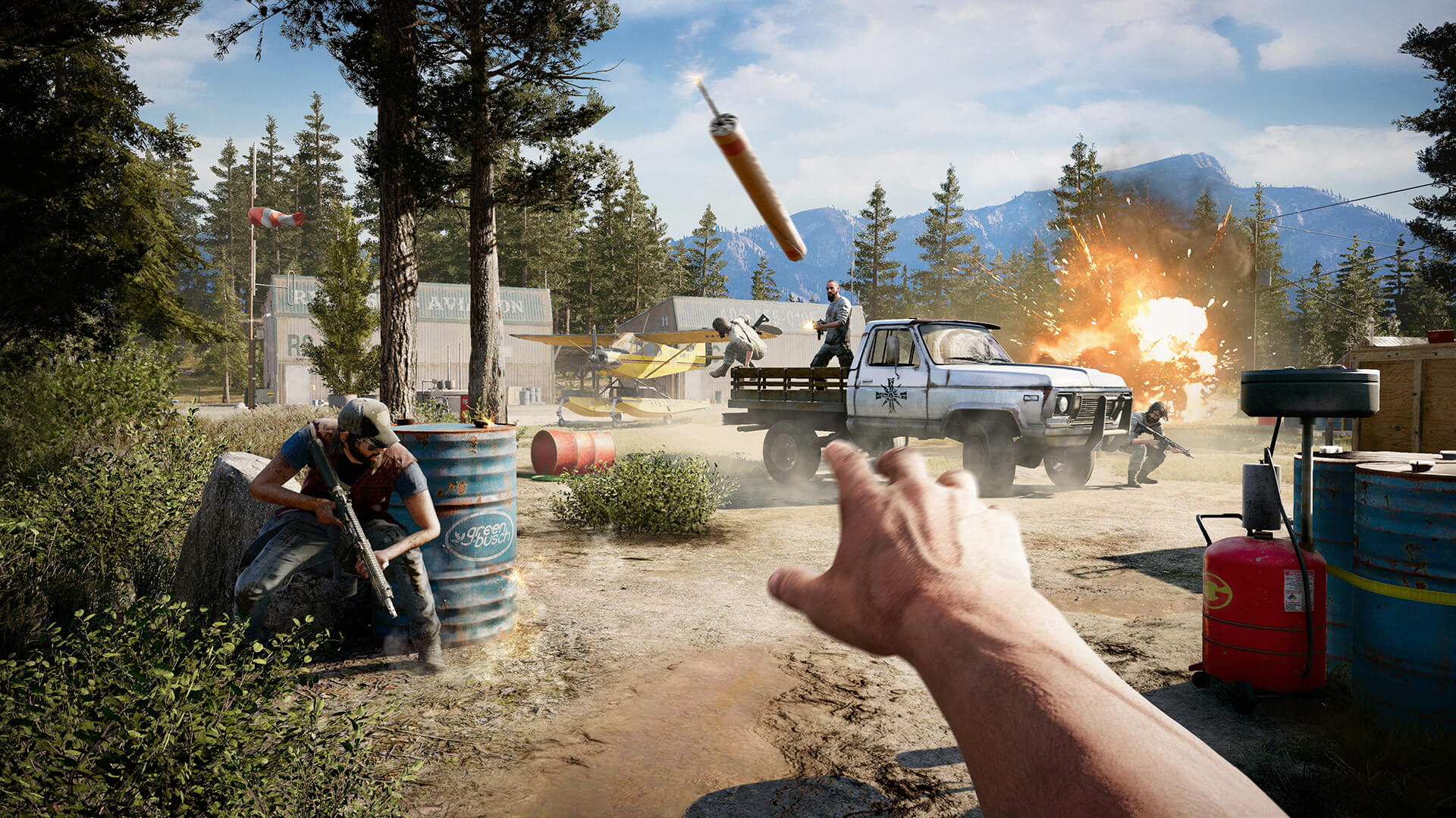 Far Cry 5 Benchmarked: 50 GPUs Tested - TechSpot