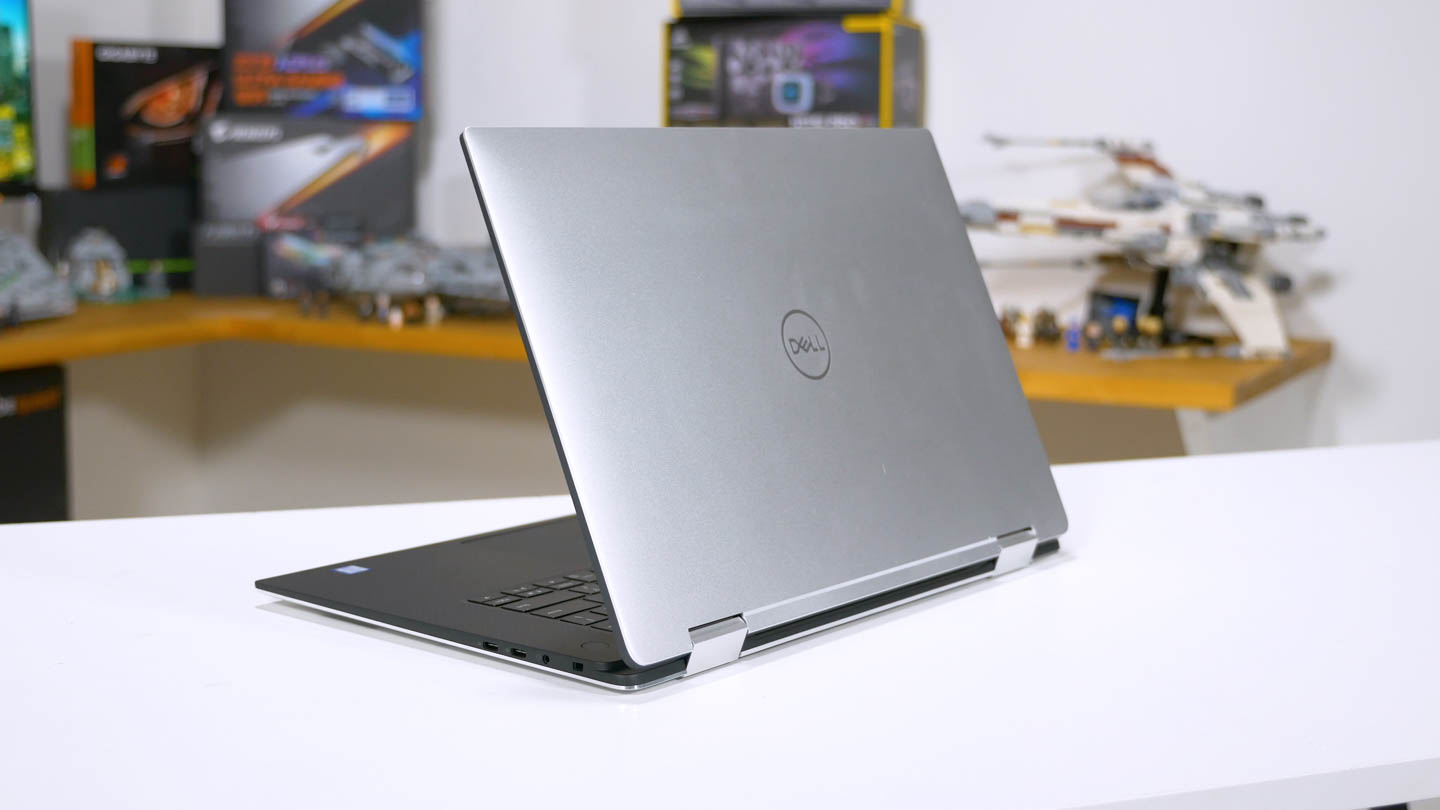 Dell XPS 15 2-in-1 Review > Storage, Thermals, Battery Life