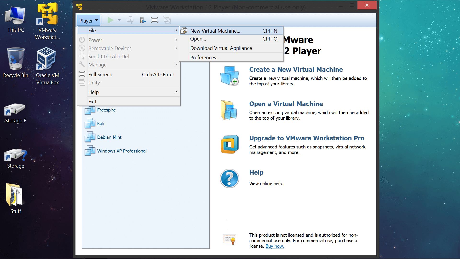 Vmware Player Windows 10