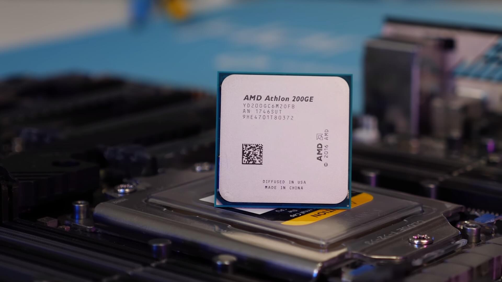 Overclocking the $55 AMD Athlon 200GE CPU - TechSpot