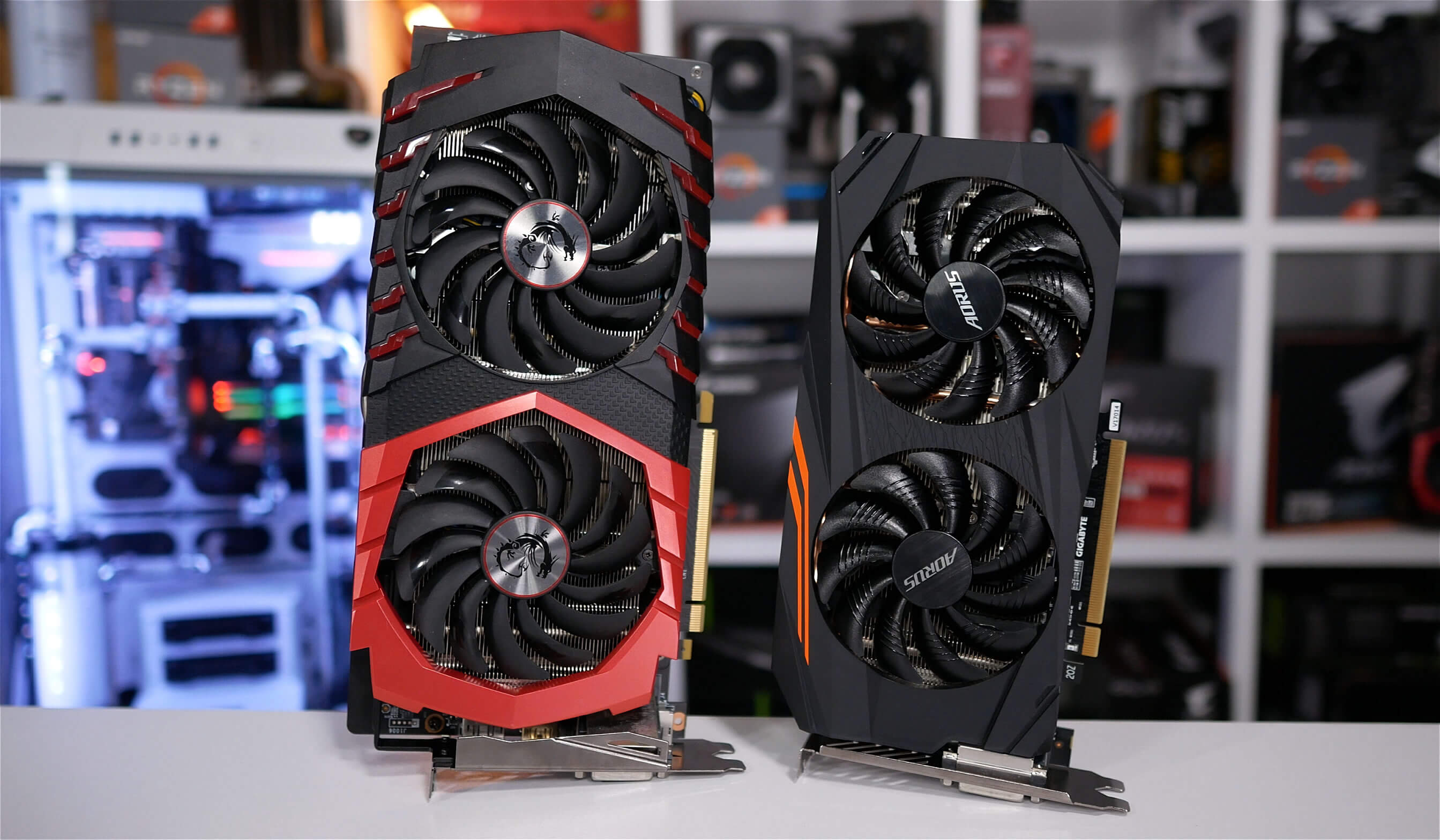 Radeon RX 570 vs  RX 580 vs  GeForce GTX 1060 3GB vs  GTX