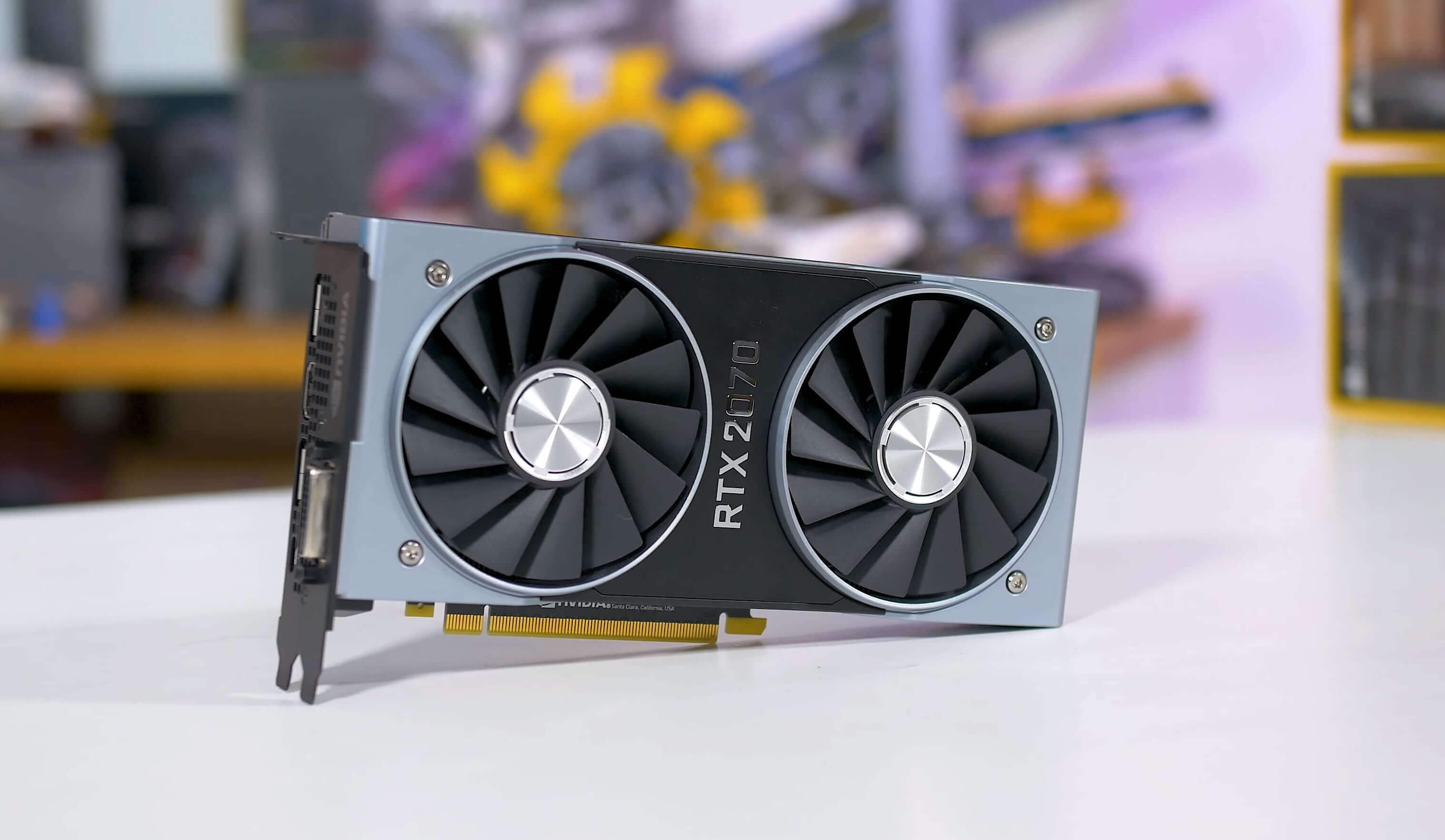 Desktop vs. Laptop Gaming with the RTX2070