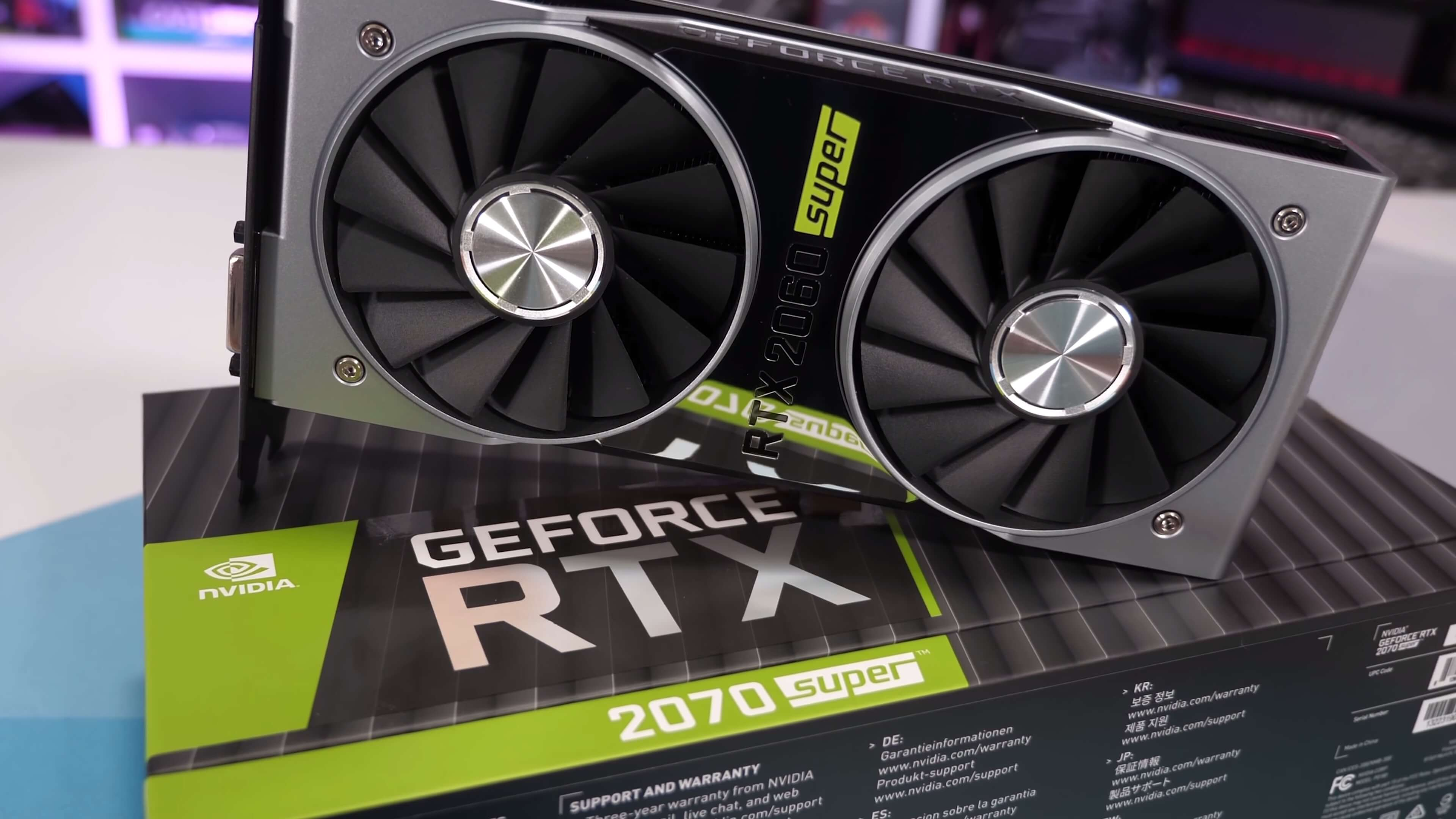 Nvidia GeForce RTX 2070 Super and RTX 2060 Super Review