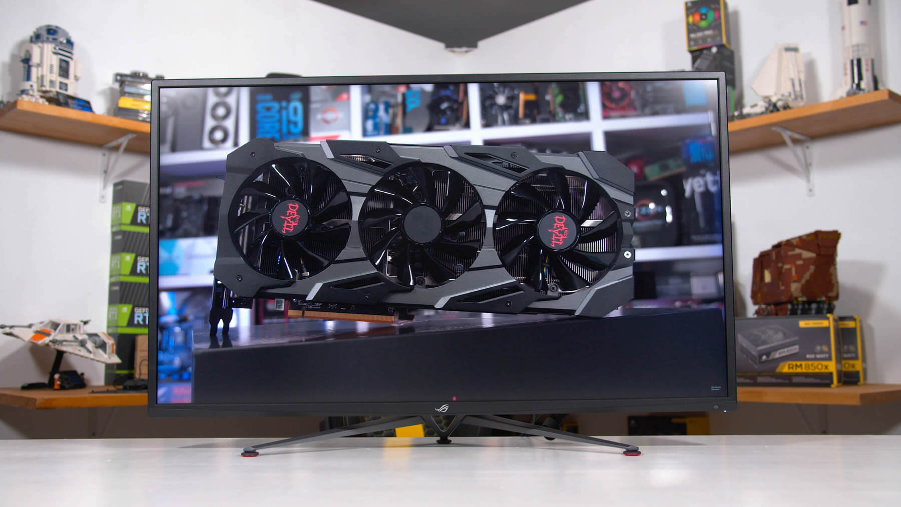 Asus ROG Strix XG438Q Review: A Massive 4K 120Hz Gaming