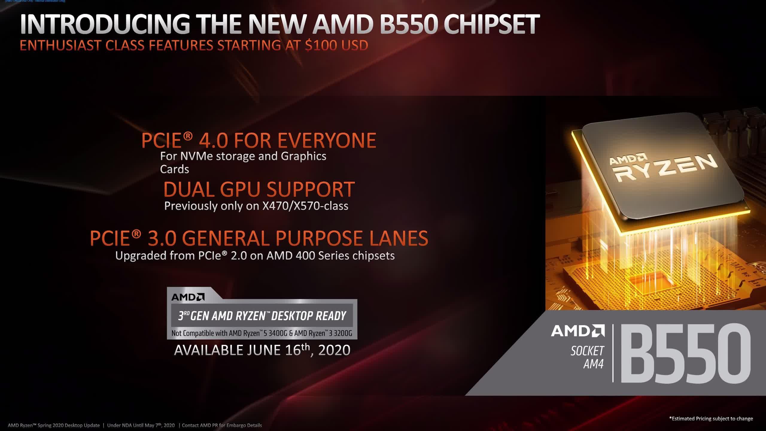 , AMD B450 or B550 Motherboard for Ryzen 5000 CPUs?