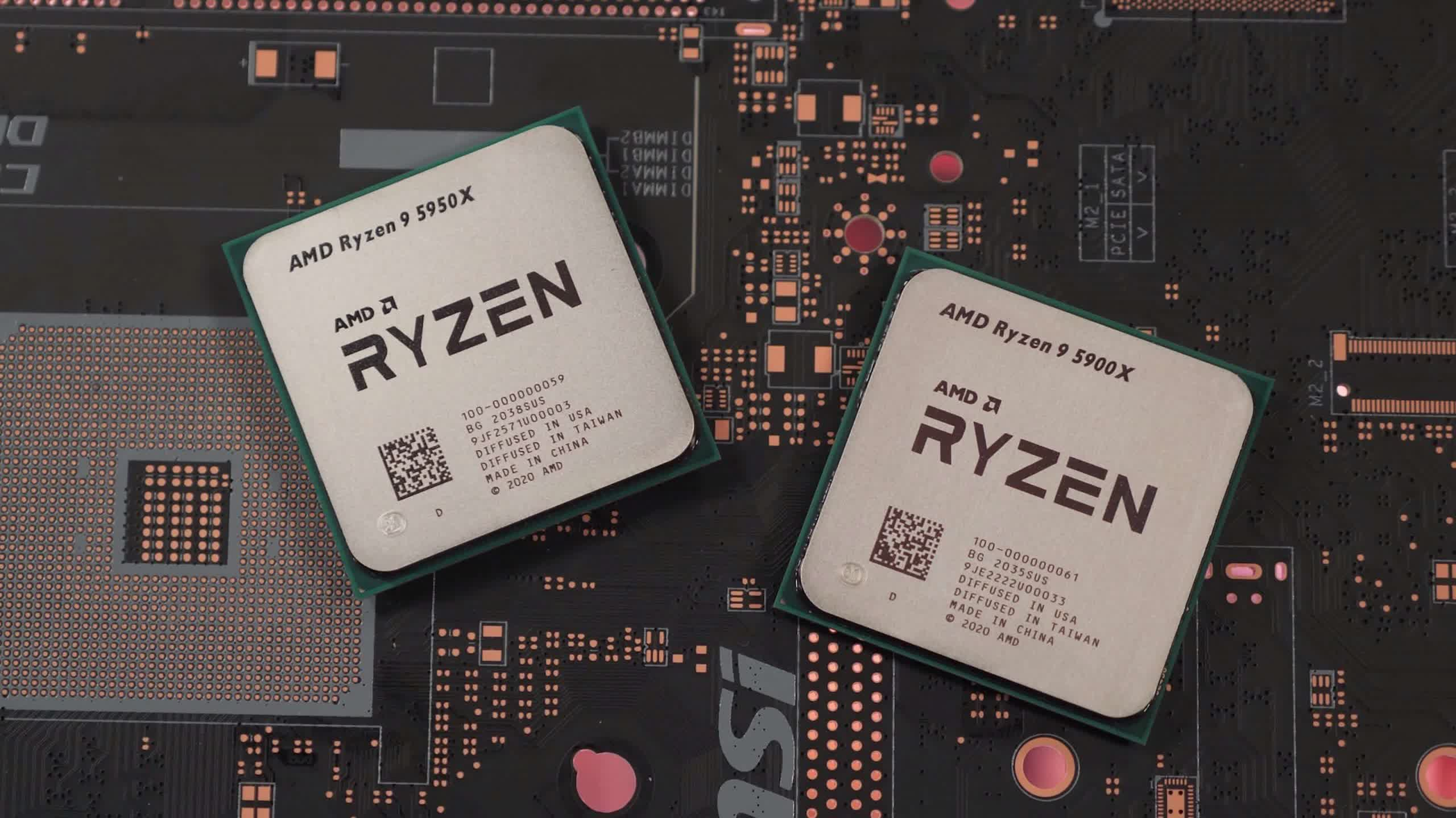 Ryzen 5000 CPUs sell out in minutes, appear on eBay with inflated prices