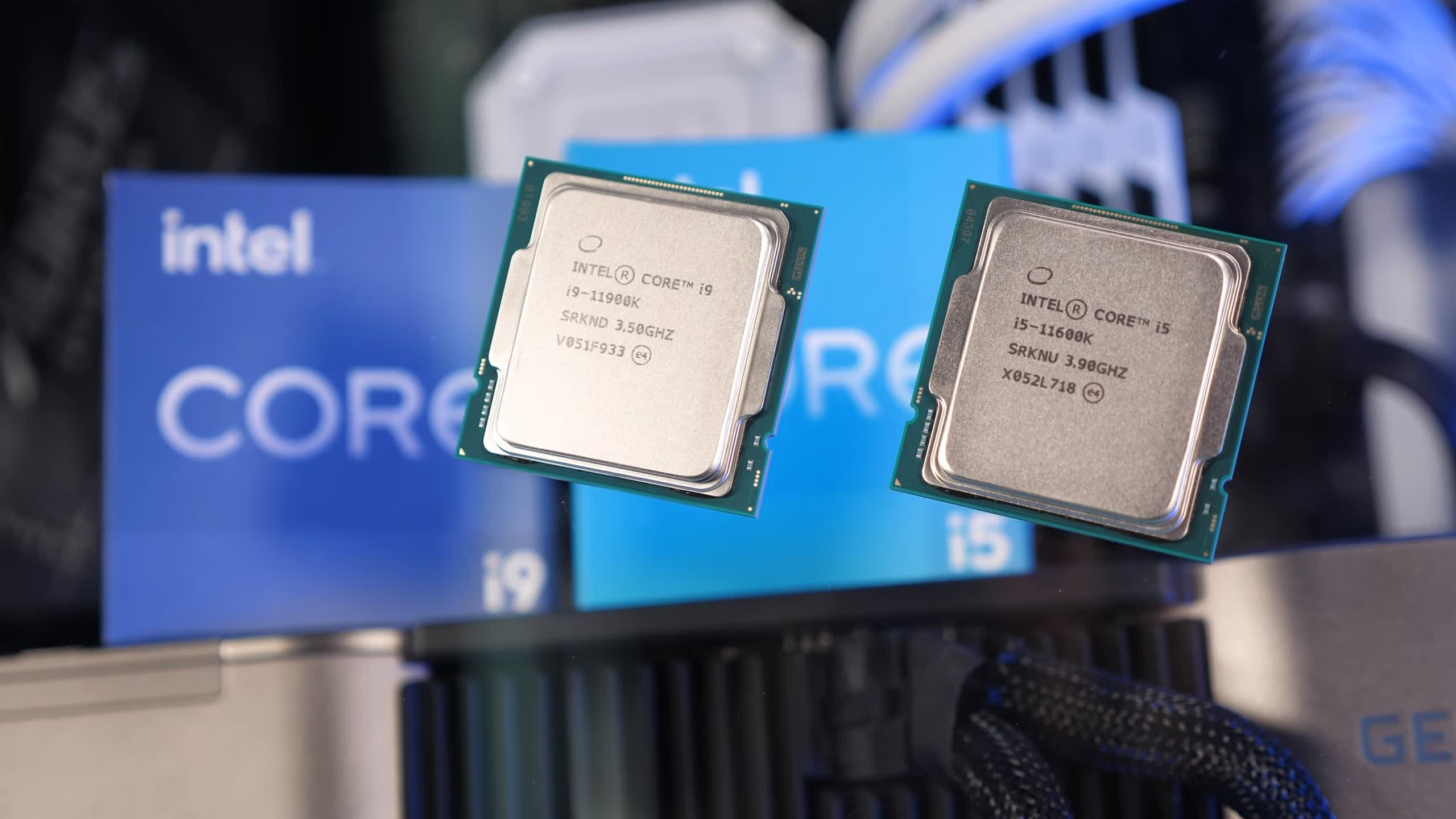 Intel forgot to release graphics drivers for their 11th-gen Rocket Lake CPUs