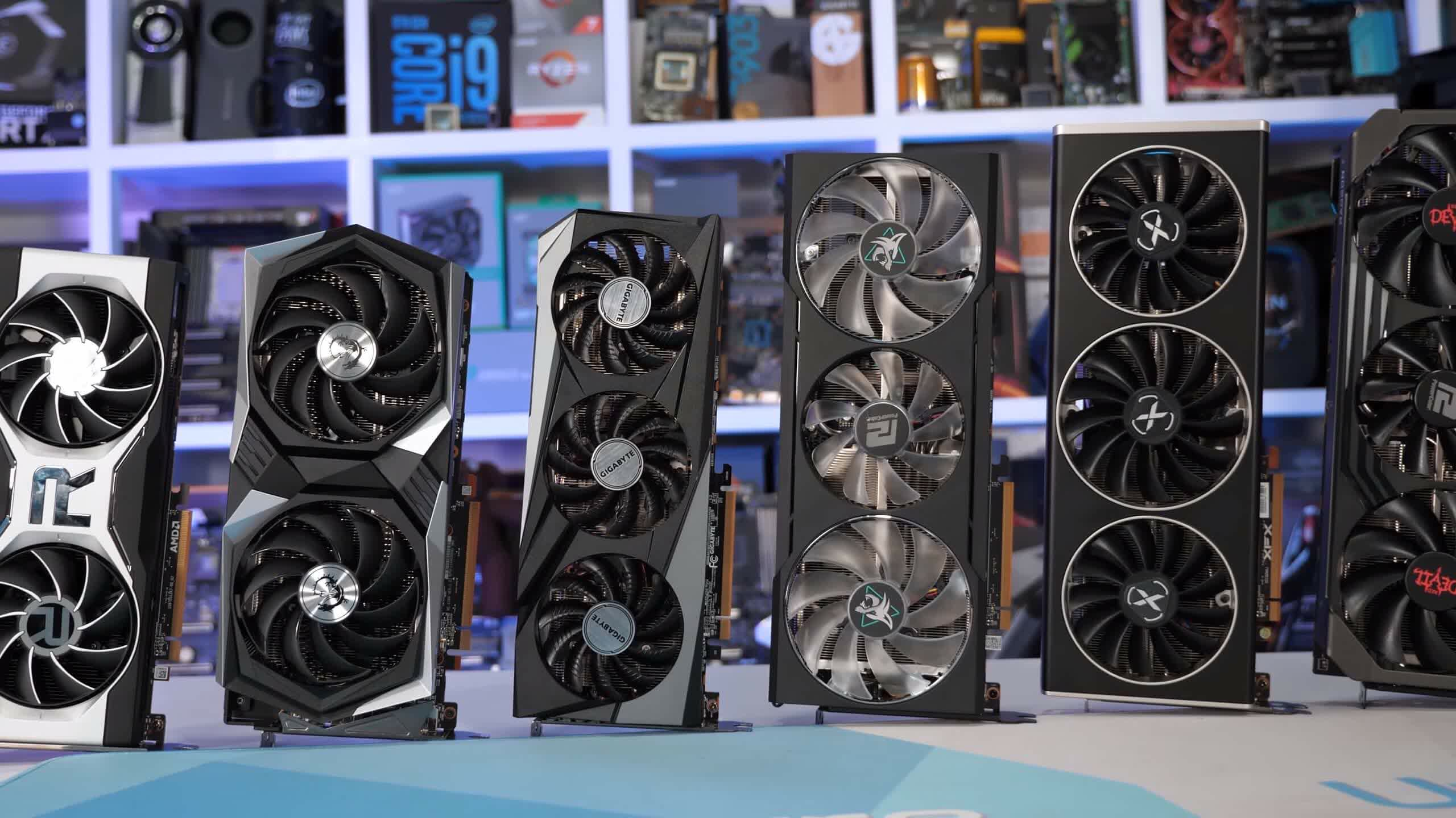 Graphics card prices are no longer falling rapidly