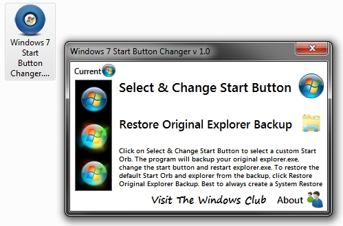 change icon windows 7 explorer