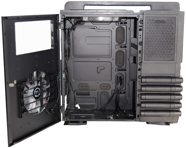 Thermaltake Level 10 Gt Case Review Gt Level 10 Gt Internal