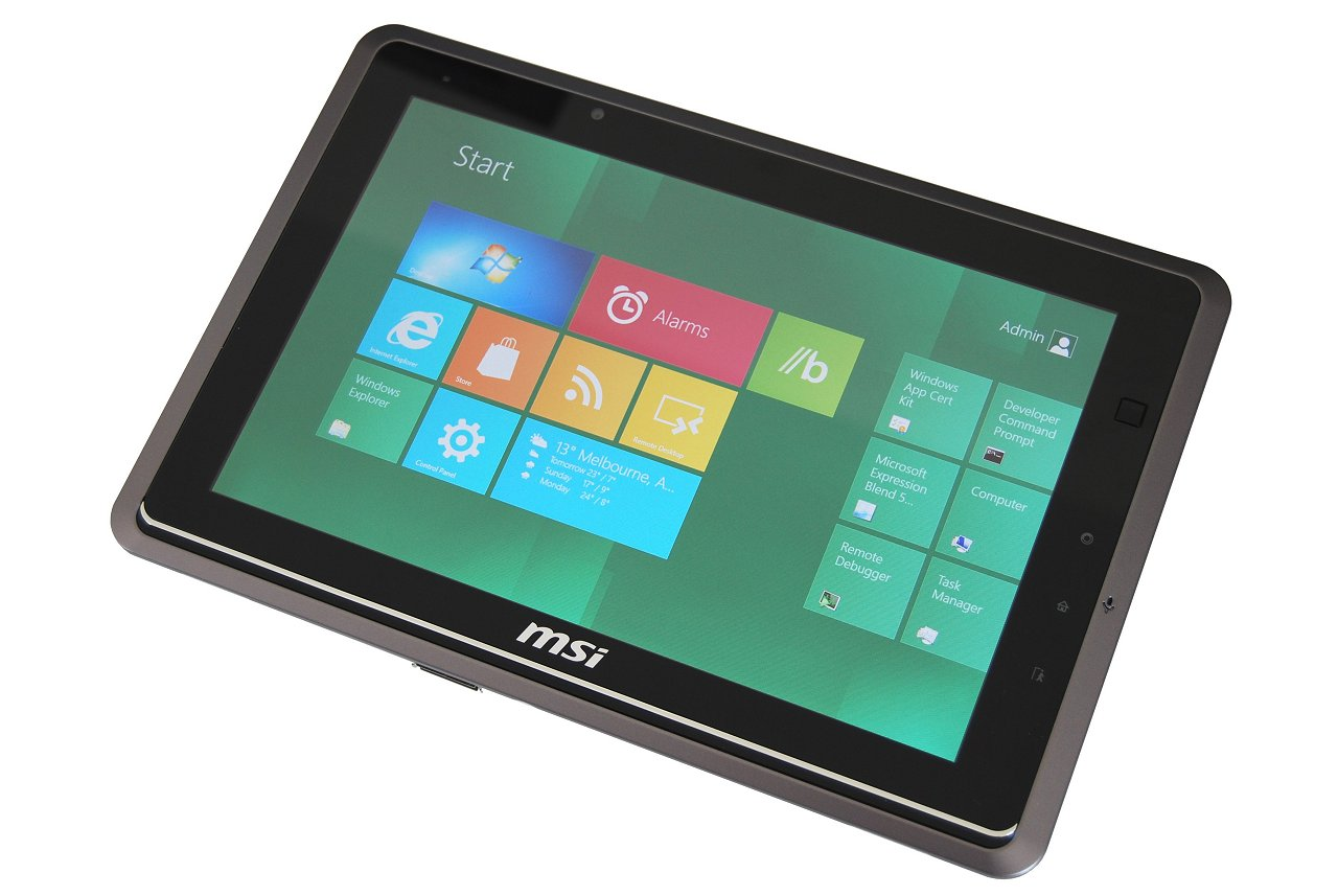 MSI WindPad 110W Tablet + Windows 8 Review - TechSpot