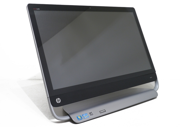 how to get inside the hp touchsmart 520