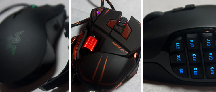 V Mouse Guide MMO Gaming Mice Roundup -
