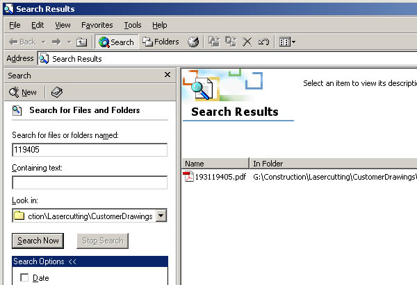 Has Windows Search Improved Since Win2k? It Hasn�t!