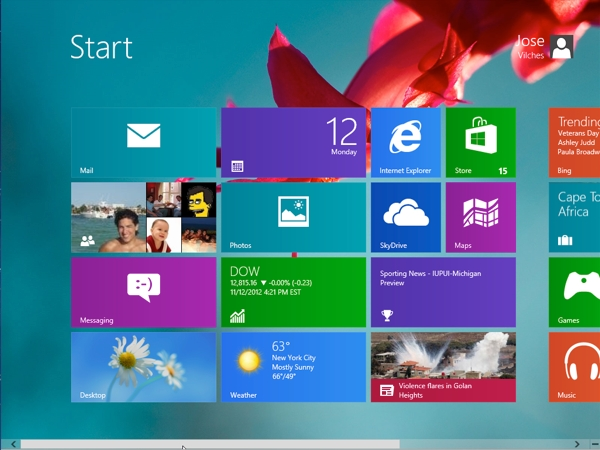 How to Change the Start Screen Background in Windows 8 - TechSpot