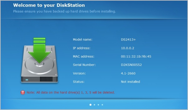 Synology DiskStation DS2413+ NAS Review > NAS Installation - TechSpot