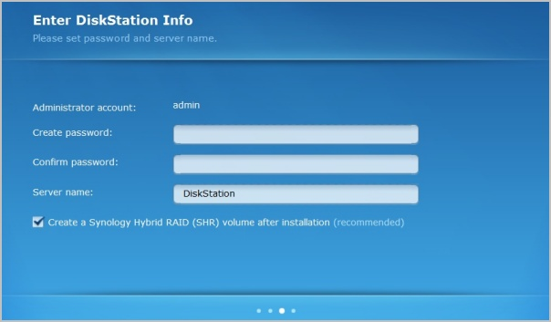 Synology DiskStation DS2413+ NAS Review > NAS Installation