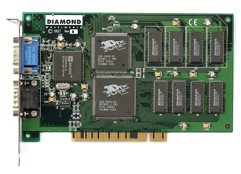 3dfx Voodoo3 with DX7.0 Support Download Drivers