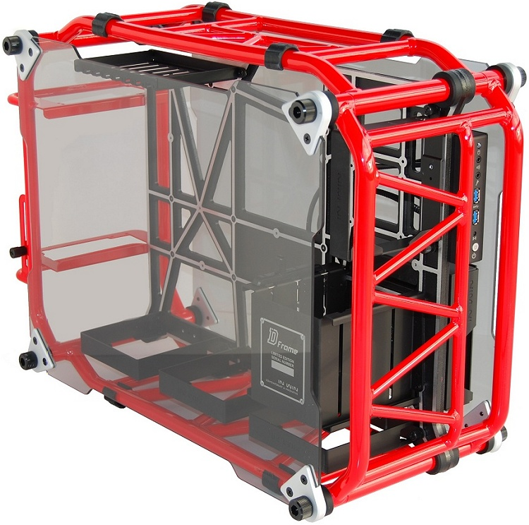 In Win D-Frame Red Case Review - TechSpot