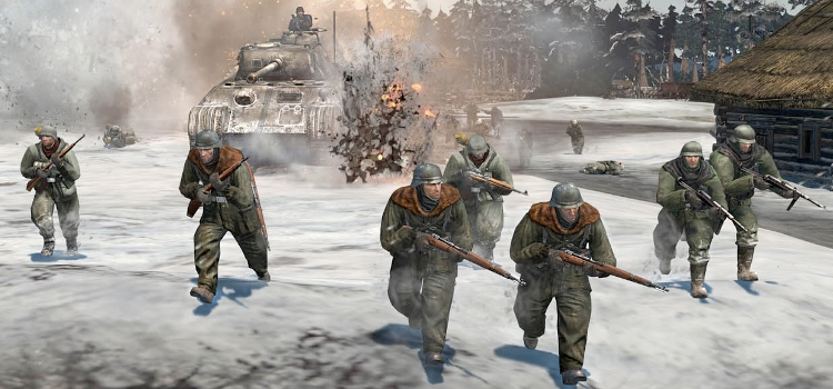 company of heroes 2 performance benchmarked techspot. Black Bedroom Furniture Sets. Home Design Ideas