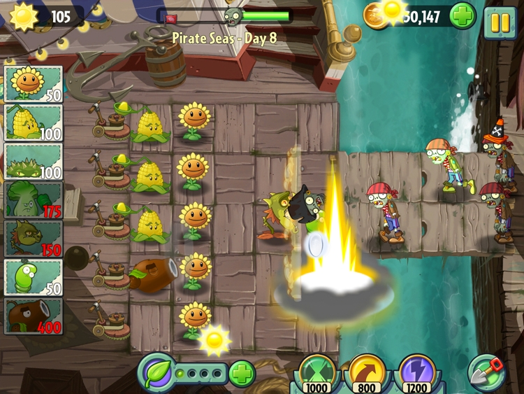 Plants vs. Zombies 2 - Pirate Seas