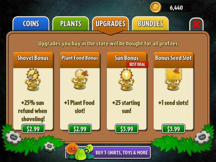 Plants vs. Zombies 2 - Plant Food
