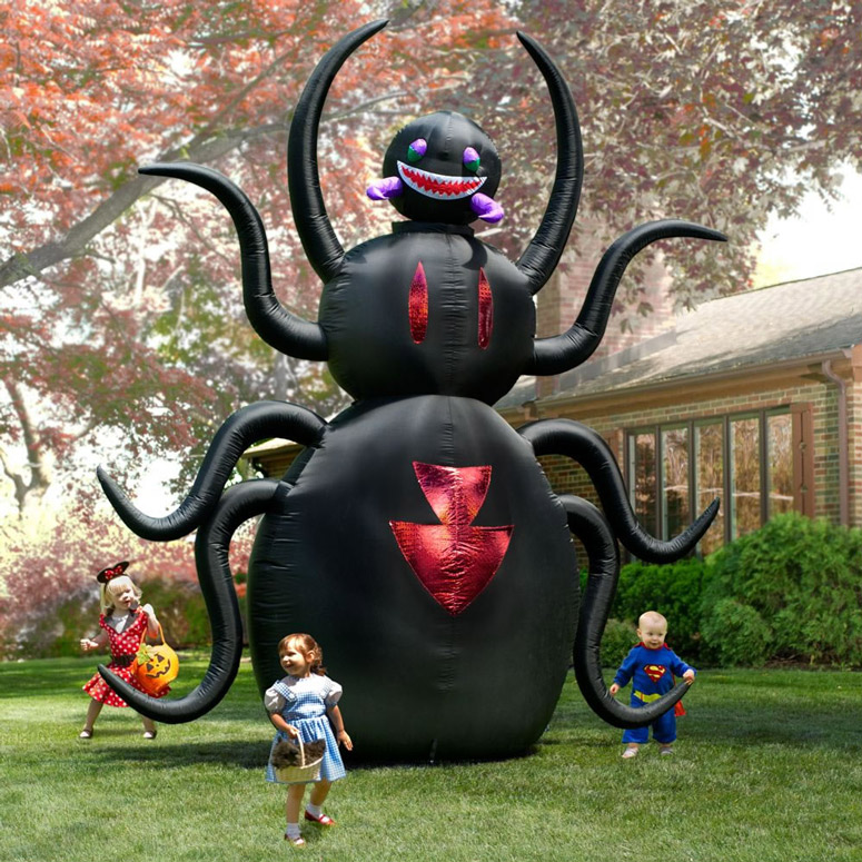 huge inflatable spider
