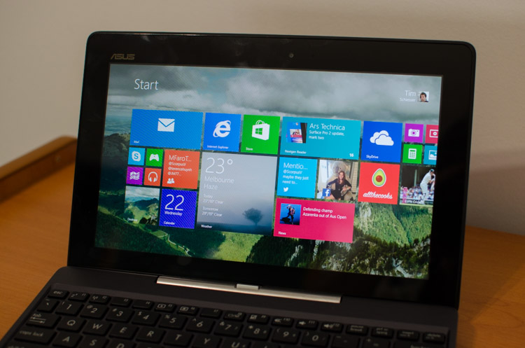 asus transformer windows review