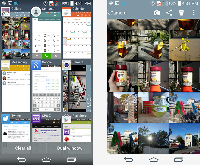 LG G3 Review > Software: Improvements All Around