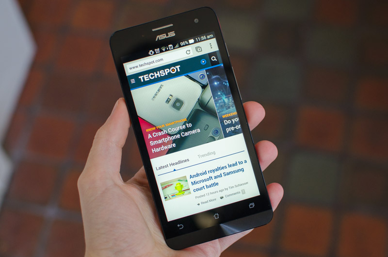Asus Zenfone 5 Review: Large Screen, Small Price > Performance
