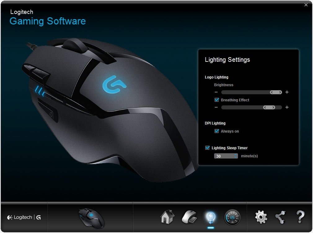 Logitech G402 Hyperion Fury Mouse Review > Software Utility - TechSpot