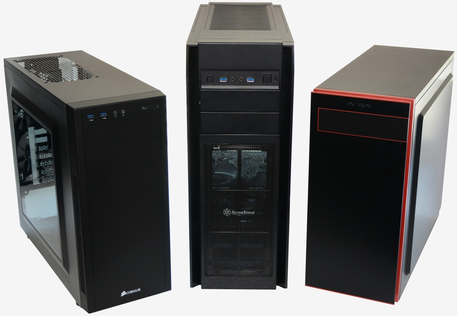3 way budget mid tower pc case shootout