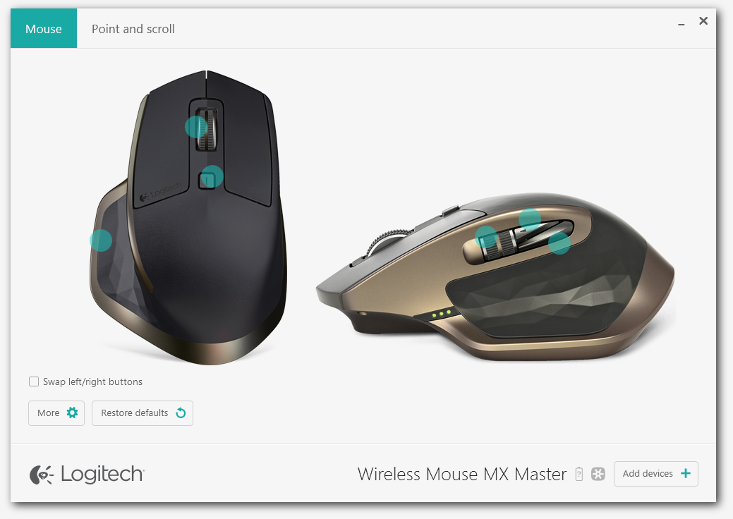 59886fc1a02 Logitech MX Master Wireless Mouse Review > Software Utility - TechSpot